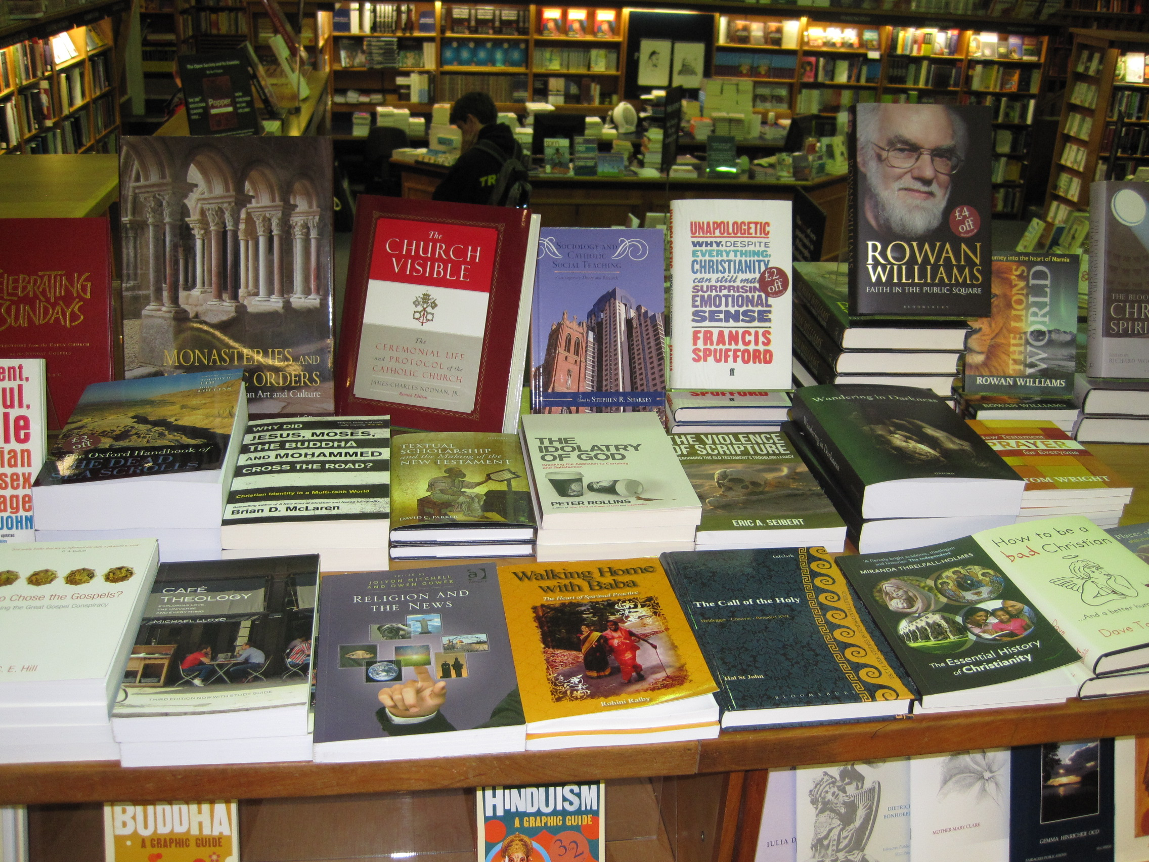 Baba in Blackwell's